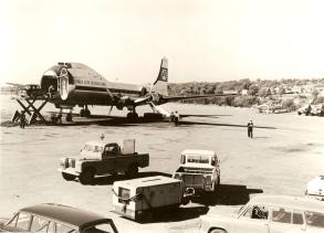 Aer Lingus Carvair aircraft circa 1960s