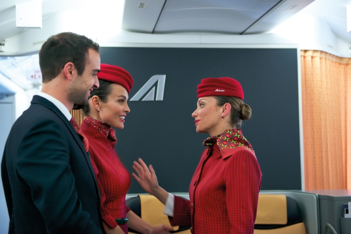 New uniforms - cabin crew (2)