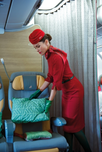 New uniforms - cabin crew (4)
