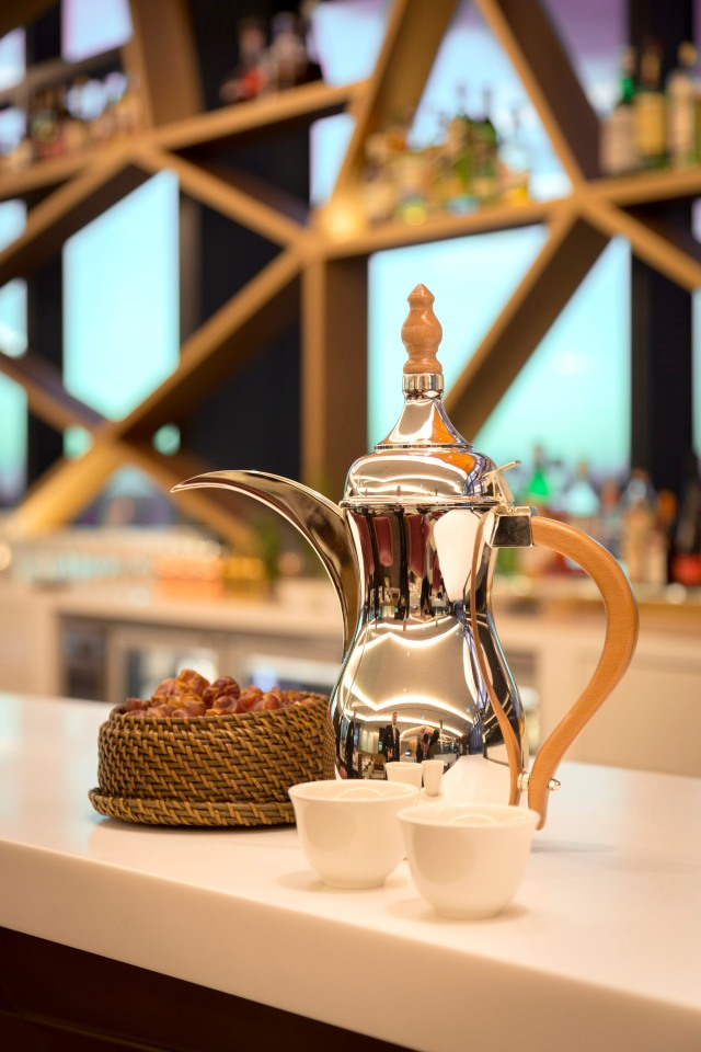 Tradtional welcome_Arabic coffee and dates | TheDesignAir