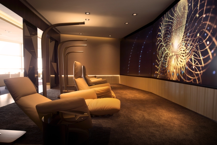 Etihads New Abu Dhabi First Class Lounge Revealed