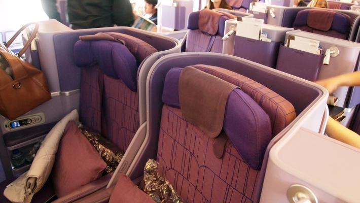 Thai Airways Airbus A380 Business Class