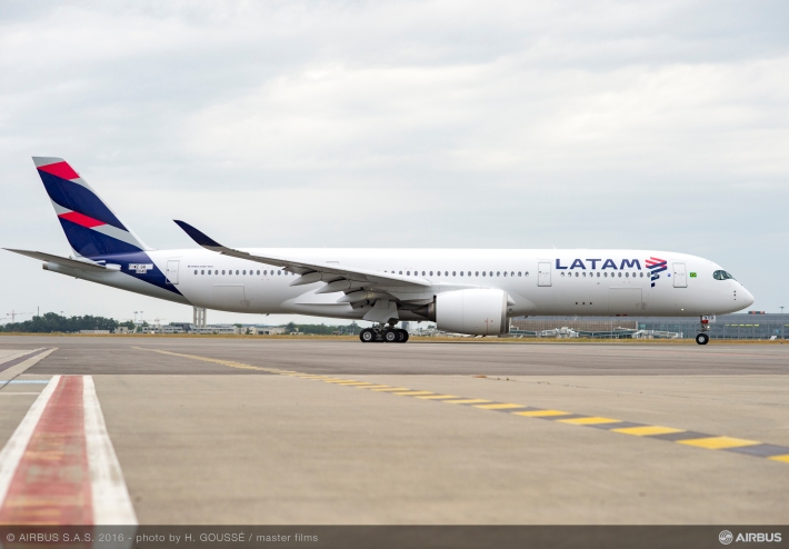 Latam Reveals First A320 Neo Amp A350 In New Colours