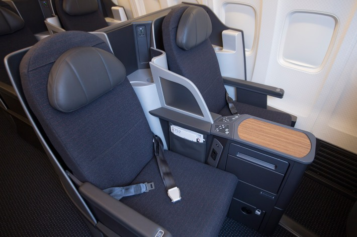 American airlines 757 retrofit programme gets underway for Interieur boeing 757
