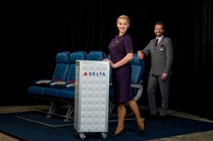Unitiform Vignettes during the Delta Runway Reveal in Atlanta, Georgia, Monday, October 17, 2016 ©Chris Rank, Rank Studios