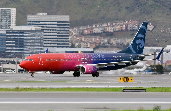 Alaska Airlines Virgin America new Livery