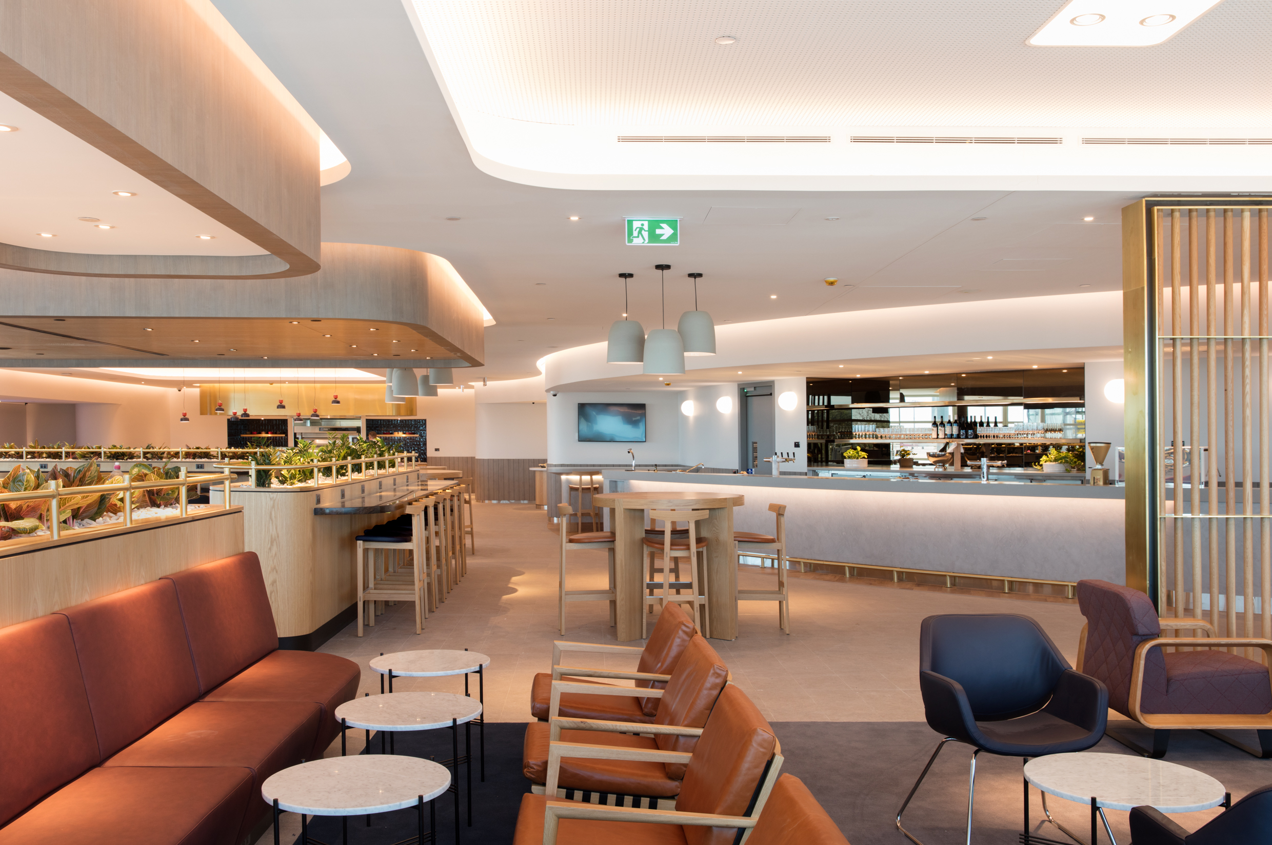Main Bar. Next Week Sees The Doors Open To Qantasu0027 Latest Lounge In  Brisbane, Australia. The Domestic Lounge Is The Latest Addition To A  Multi Million Pound ...