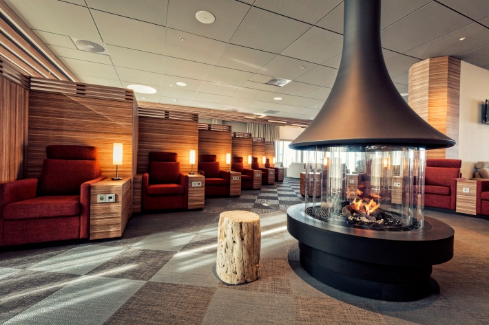 Icelandair\'s New Reykjavik Lounge Impresses With Iceland Inspired ...