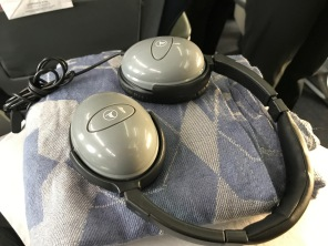 Turkish Airlines headphones