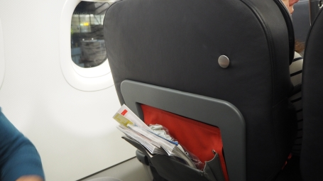 Turkish Airlines Business Class Cabin