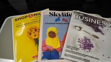 Turkish Airlines magazines