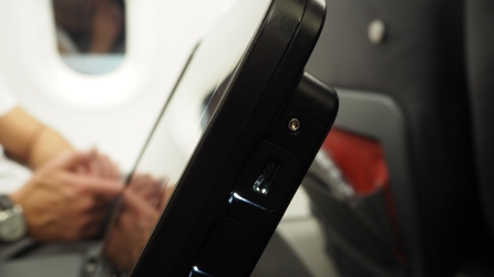 Turkish Airlines A321 Entertainment System