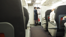Turkish Airlines A321-200 Business Class Cabin