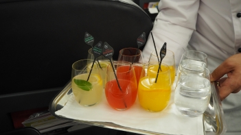 Selection of Welcome Drinks