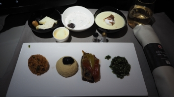 Turkish Airlines Business Class Meze
