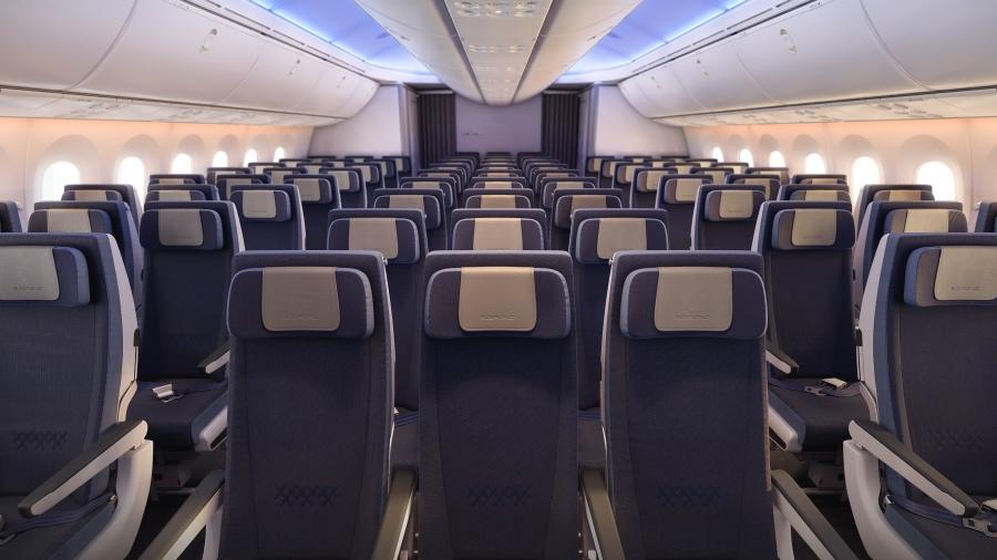 PG_EL AL_B787_ Economy cabin overview