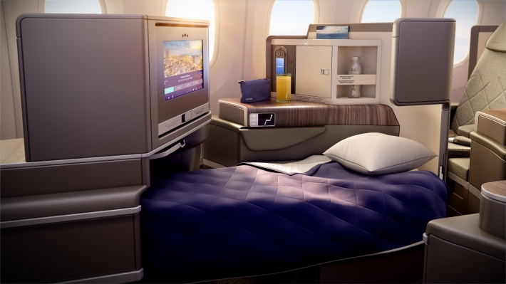 PG_EL AL_B787_Business Class bed mode day