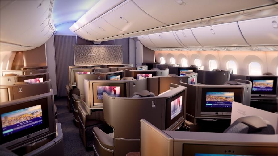PG_EL AL_B787_Business Class cabin overview