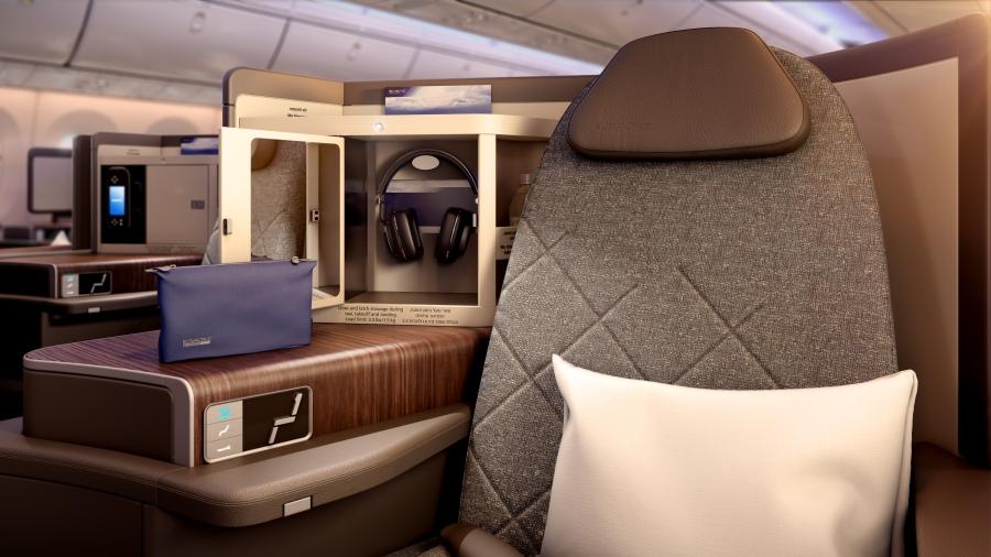 PG_EL AL_B787_Business Class seat detail