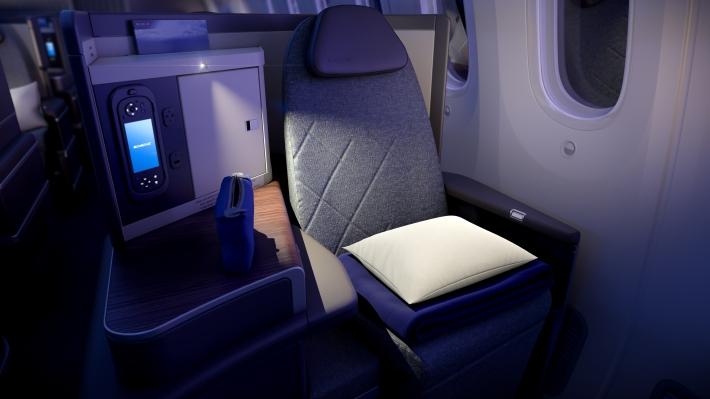 PG_EL AL_B787_Business Class seat night