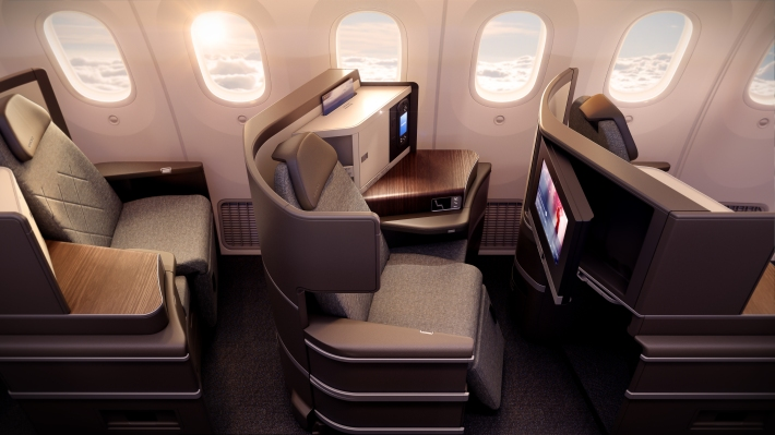 PG_EL AL_B787_Business Class seat side view