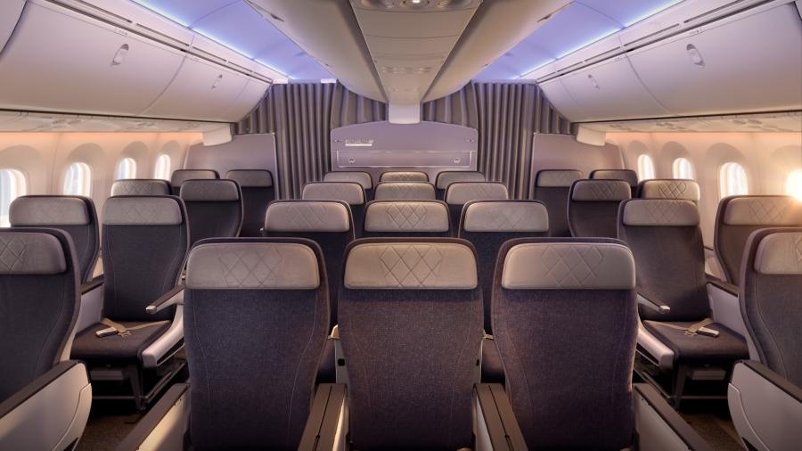 PG_EL AL_B787_Premium Economy cabin overview