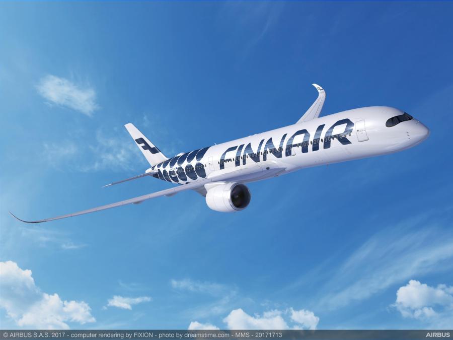 Finnair A350 Marimekko Livery Kivet 2