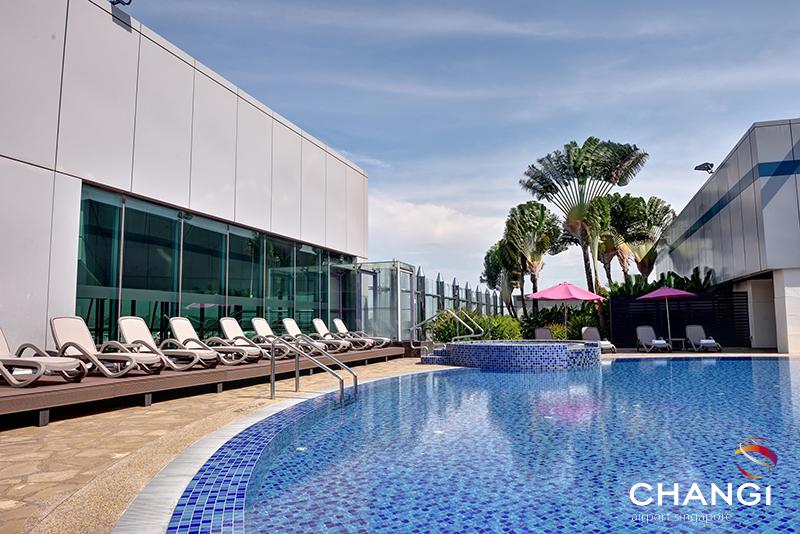 Terminal 1 - Transit - Rooftop Swimming Pool
