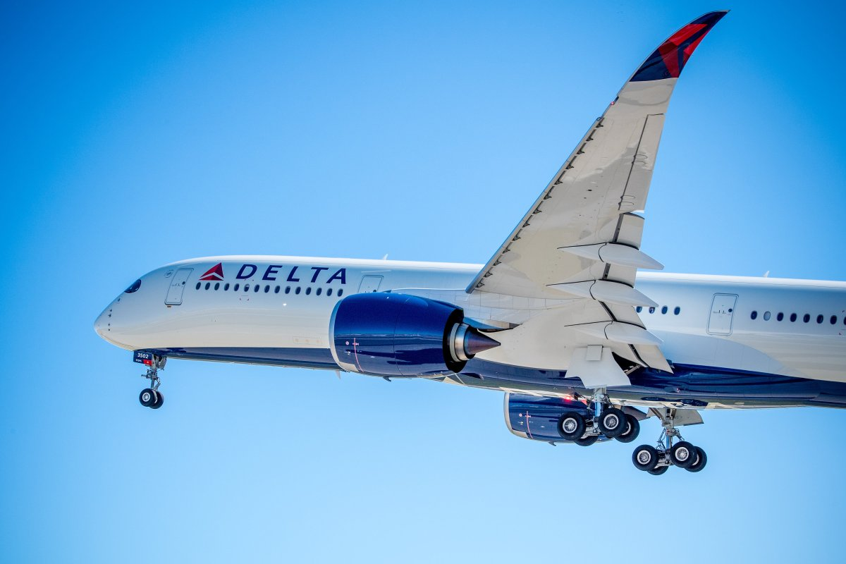 Delta Shows Off New A350 Thedesignair