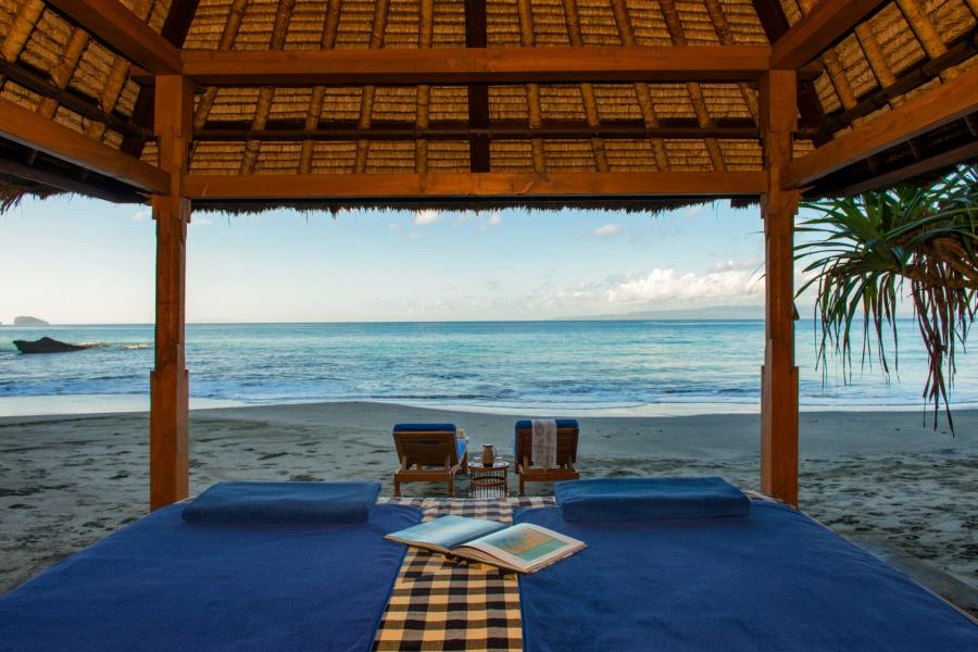 Views across the Lombok Strait