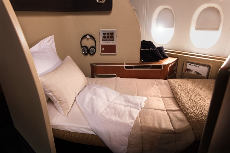 Qantas First suite 1
