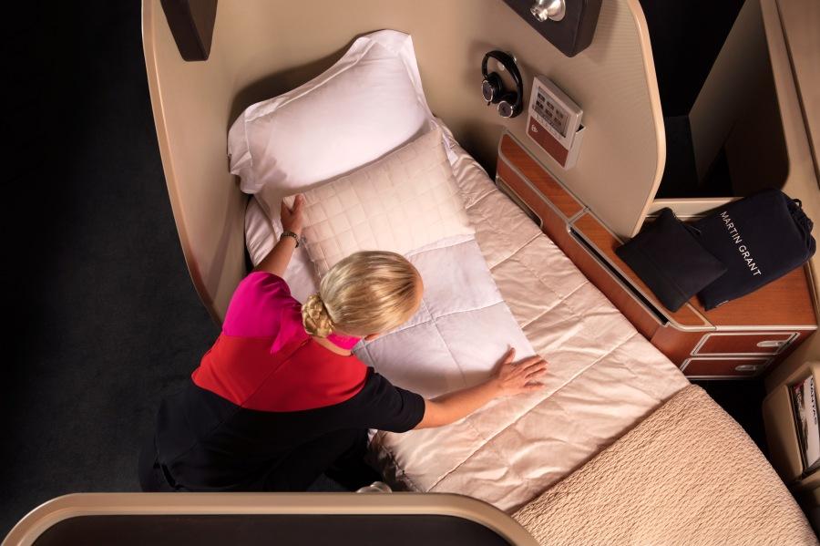 Qantas First suite 2