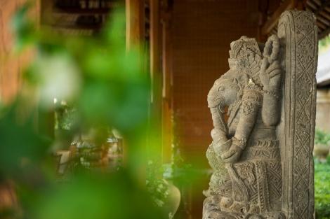 Balinese stone sculpture
