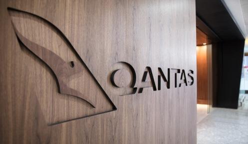 1. Qantas signage