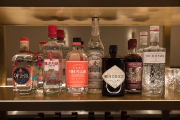 16. Gin selection