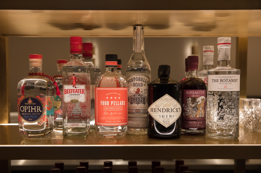 16. Gin selection