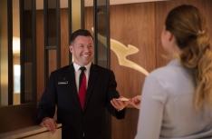 4. Entrance lounge host