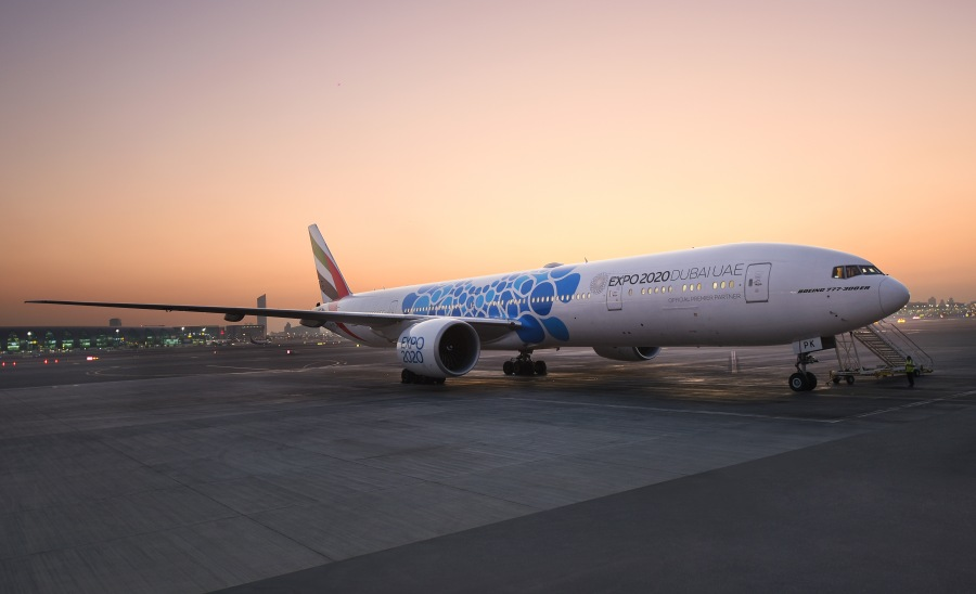 Emirates-unveils-aircraft-with-new-Expo-2020-Dubai-livery-A6-EPK