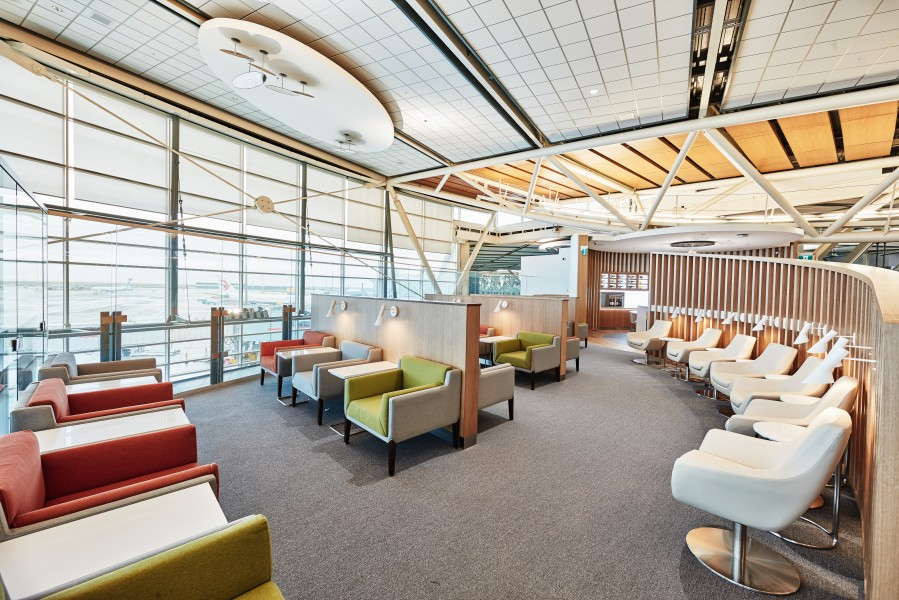 SkyTeam Vancouver Louge_West Wing Seating Area