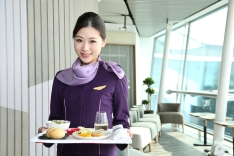 Hong Kong Airlines introduces new tableware