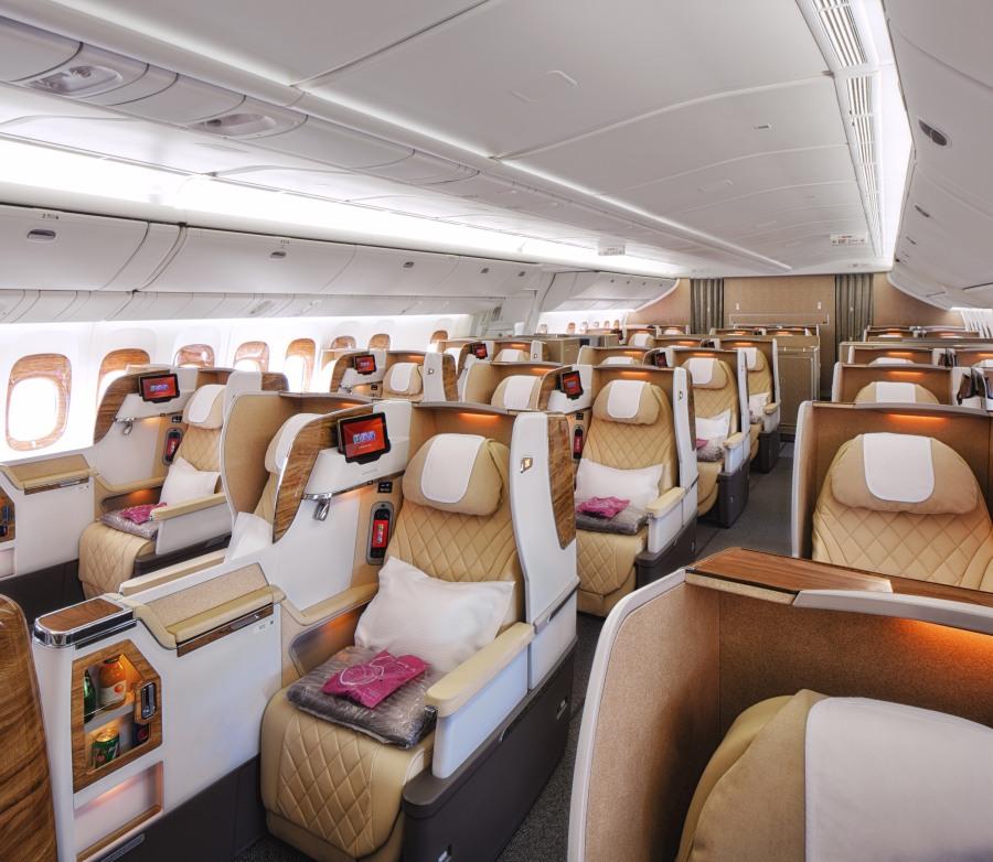 B777 Business Class 2-2-2 Configuration Seats