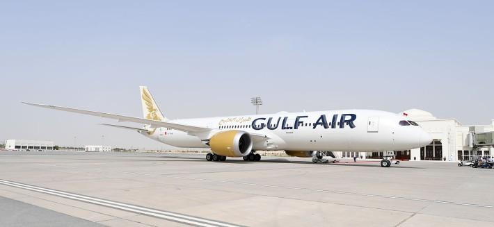 Resultado de imagen para Gulf Air new livery Boeing 787-9