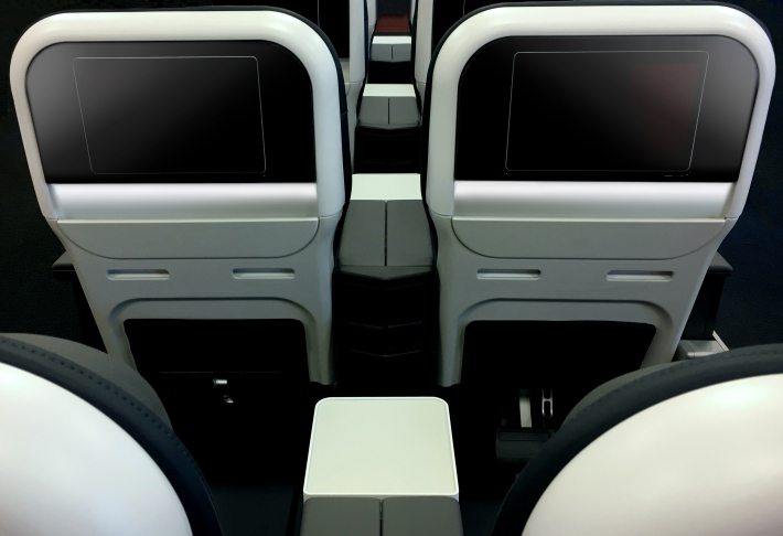 new territory and rockwell collins to introduce refreshed miq seats for aeromexico thedesignair. Black Bedroom Furniture Sets. Home Design Ideas
