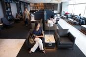 United Polaris lounge at SFO