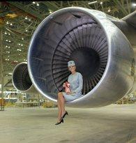 Qantas Pat Tudor, 747 Rollout K15999
