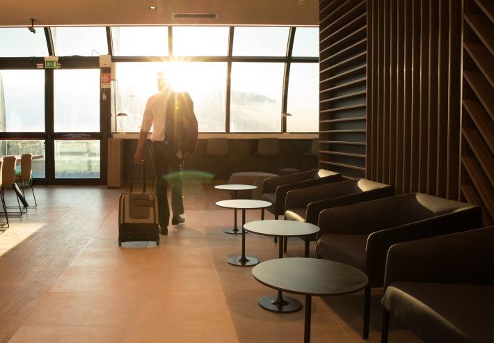 New lounge, ROME