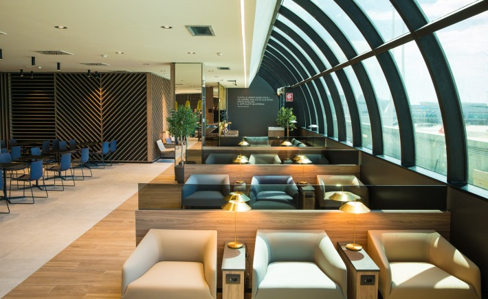 New lounge, ROME
