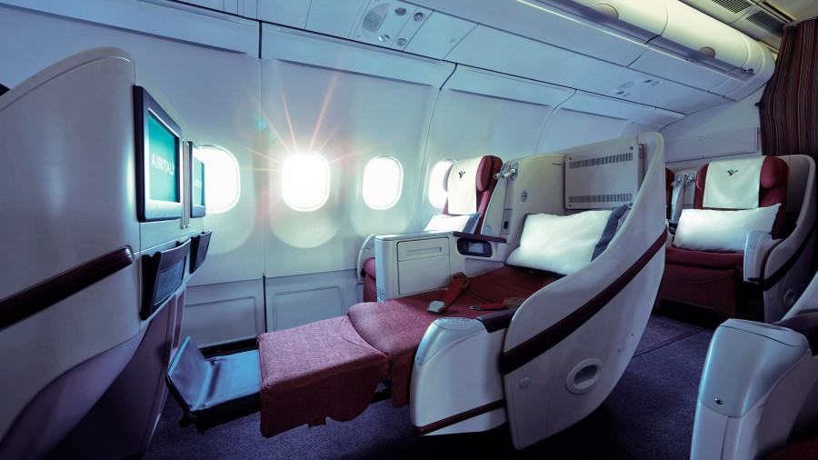 Business class_flat seat