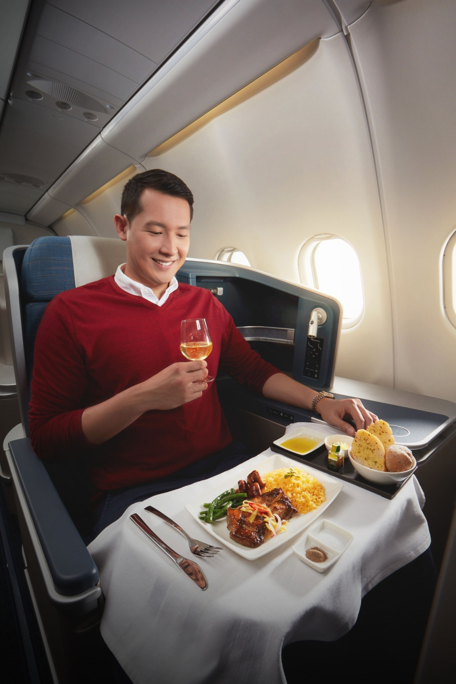 29183852-PAL-Business-Class-Full-Course-Meal