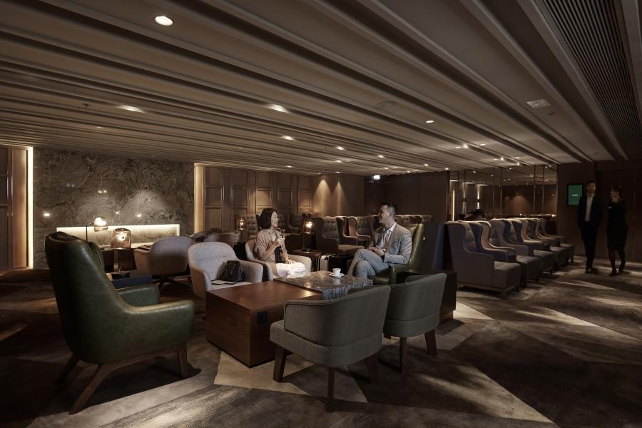 Plaza Premium First - Lounge Design